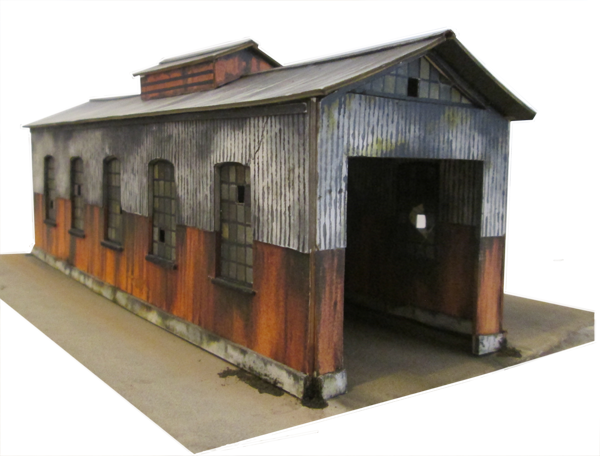 It's just a graphic of Printable Model Railroad Buildings in template free