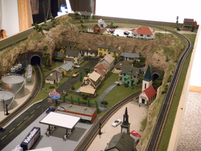Barry's model railroad layout