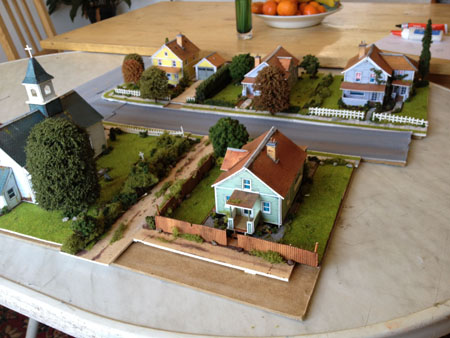Print Out Scenery Town Layout Model Railway Layouts
