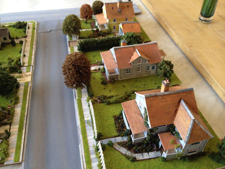 Print Out Scenery Town Layout Model Railroad Layouts