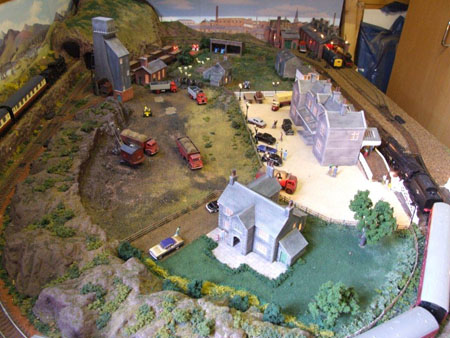 Model Train Layout Corby