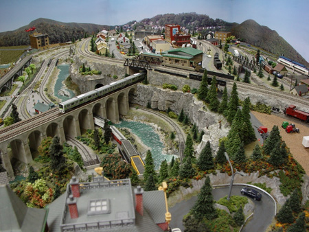Arnie S Track Plan And Pics Model Railroad Layouts