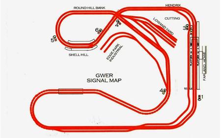 Rob's track plan diagram - Model railroad layouts plansModel