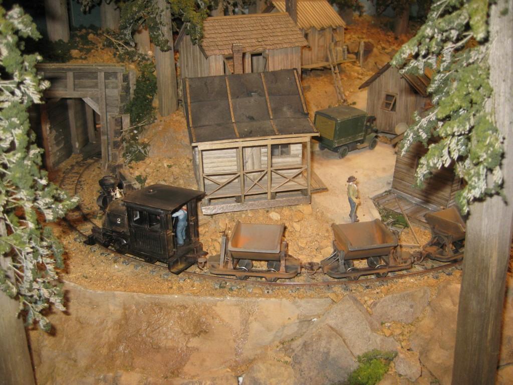 Ians Coal Mine Layout Model Railway Layouts Plans