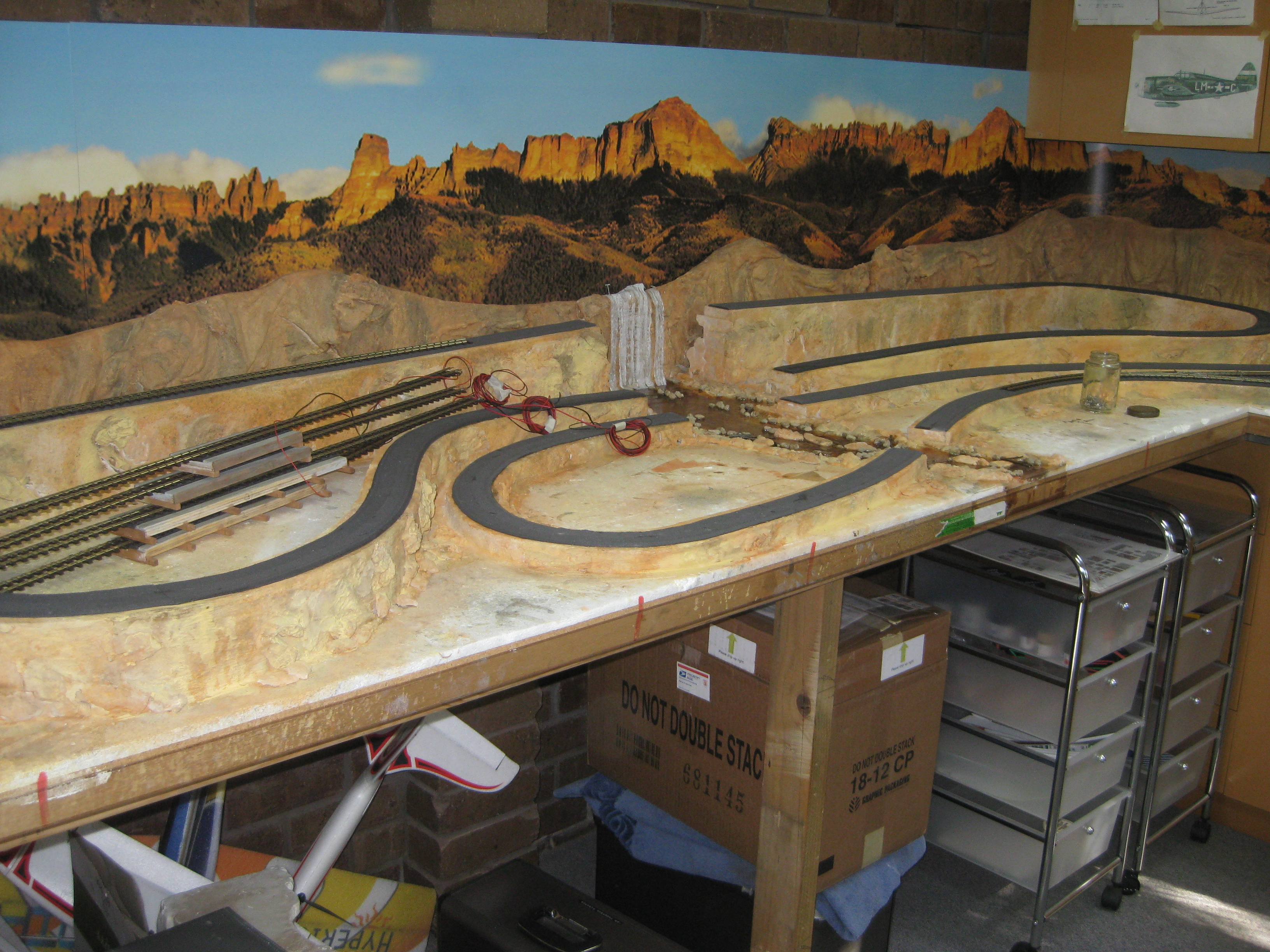 Ians Layout Model Railway Layouts PlansModel