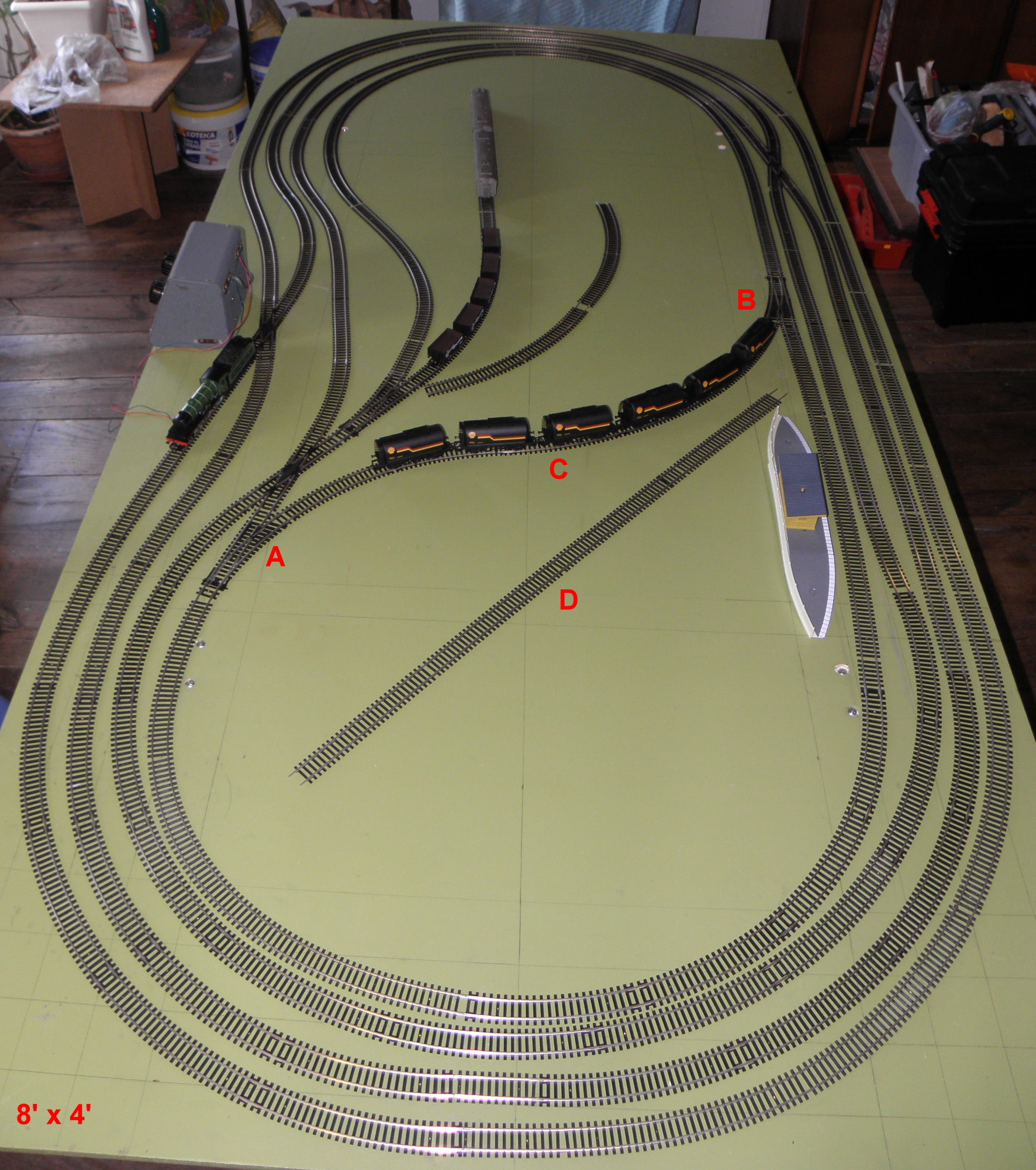 Model Train Track Wiring Simple Guide About Diagram Ho Bernard Needs Help Railroad Layouts Plansmodel Dcc Railway Switch