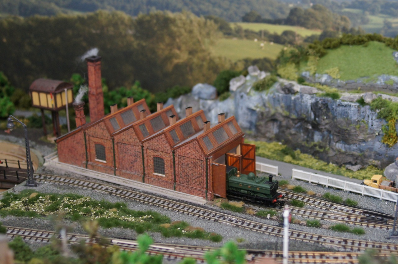 A view of the Engine shed