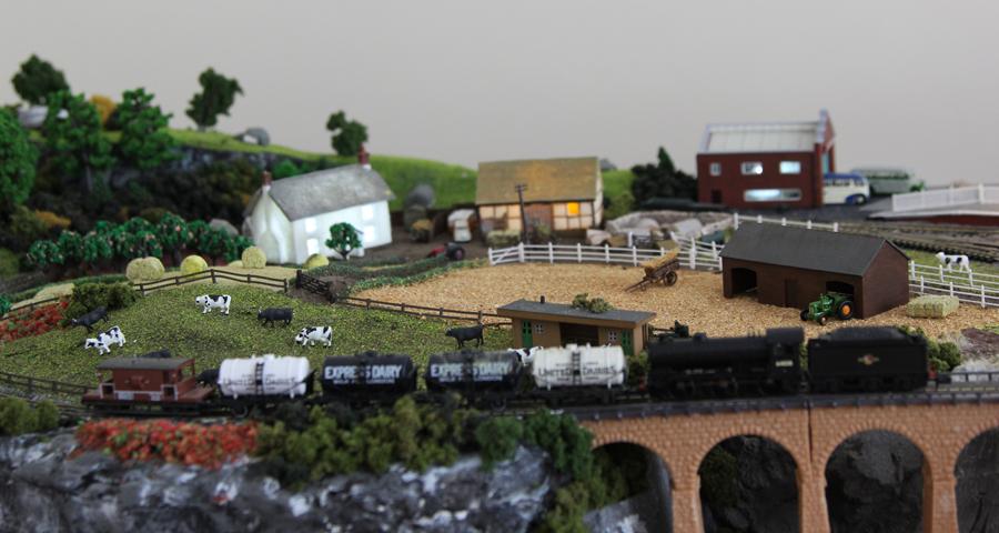 model railroad n scale