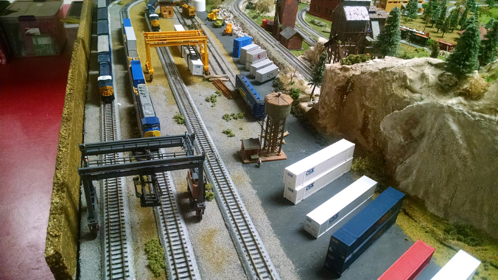 model railroad sidings