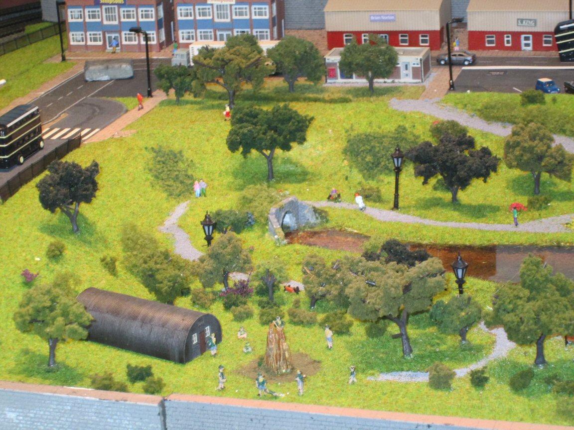 model railway park