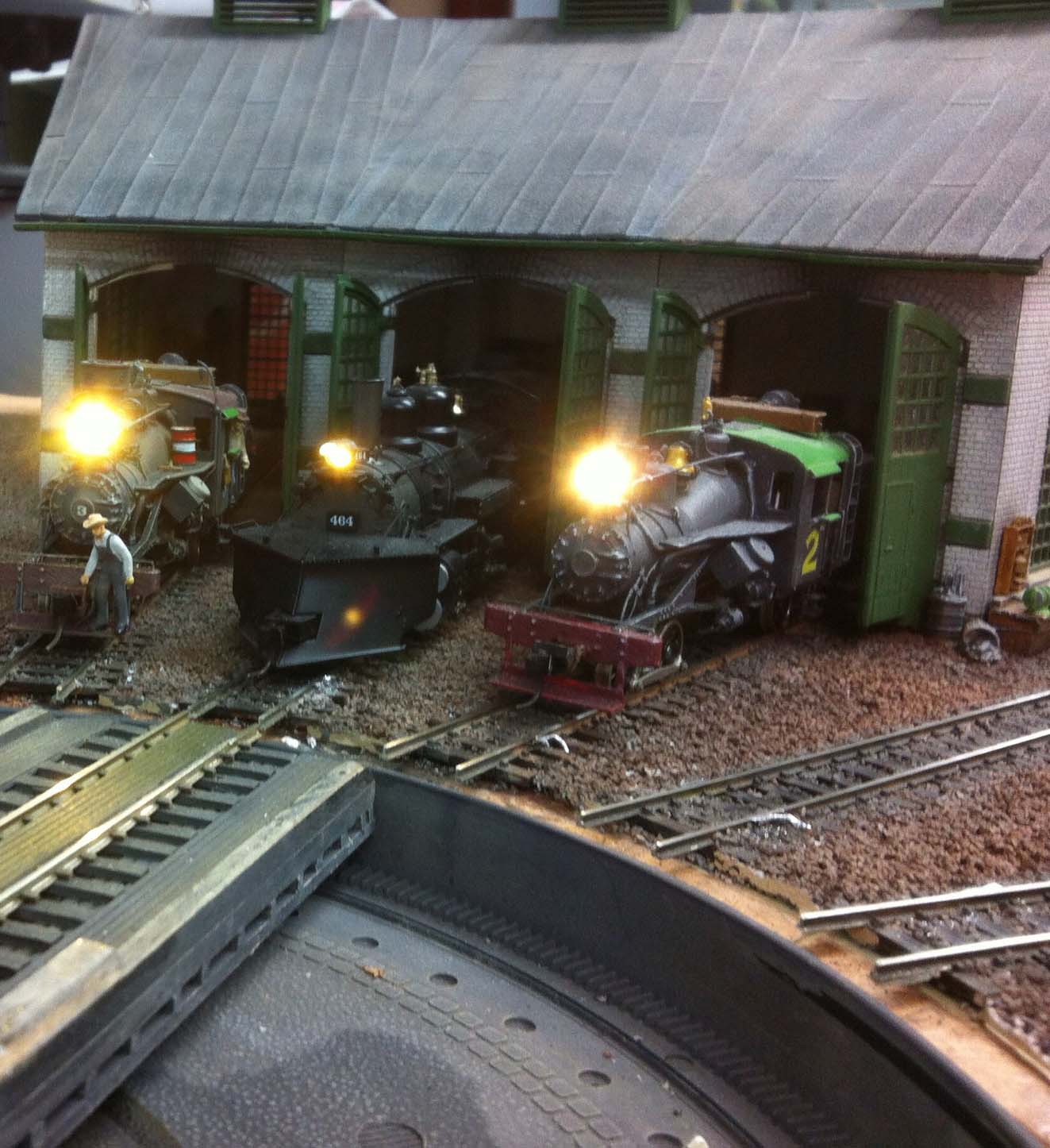 engine shed turntable