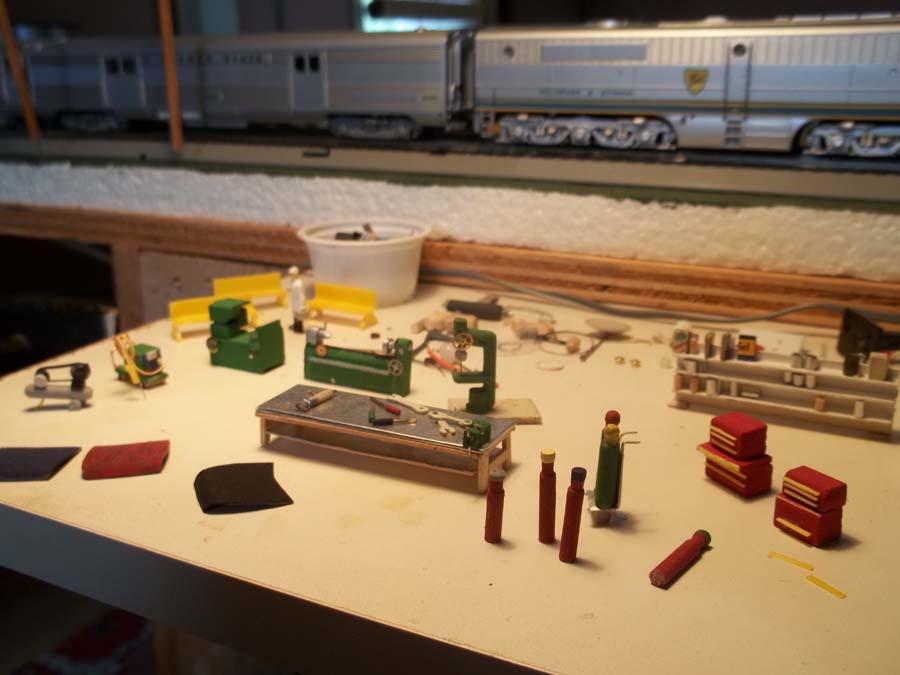 ho model scale tools