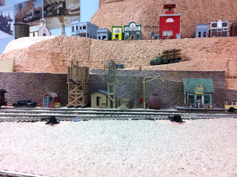model train scenery mold 1