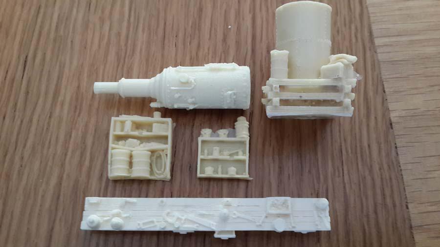 model train scenery mold c