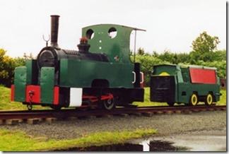 small diesel train