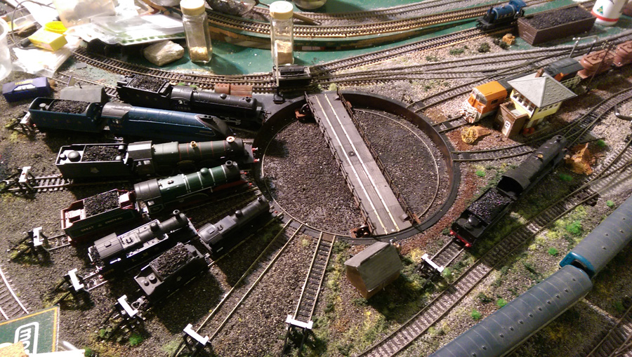 Another Coffee Table Layout Model Railroad Layouts