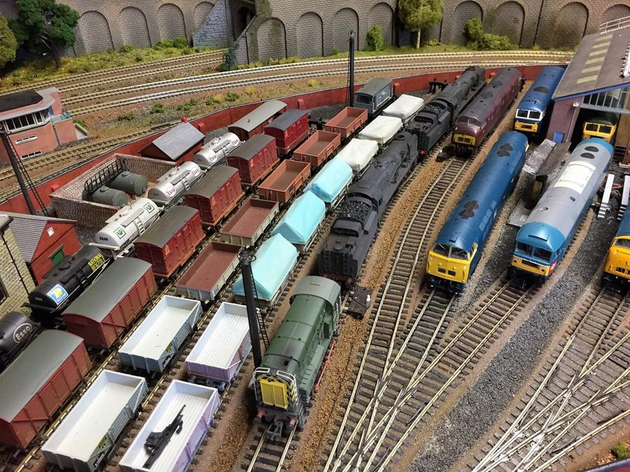 railroad engine shed 2