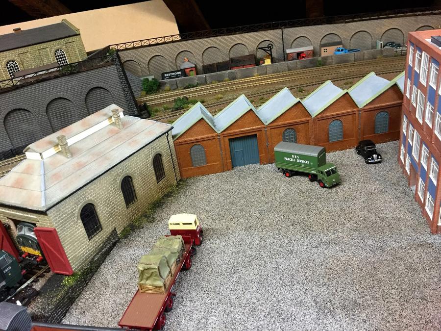railroad layout yard