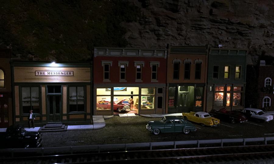 Railroad Ave Night 2