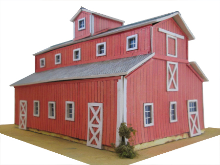 My biggest sale ever model railroad layouts plansmodel for Red barn plans