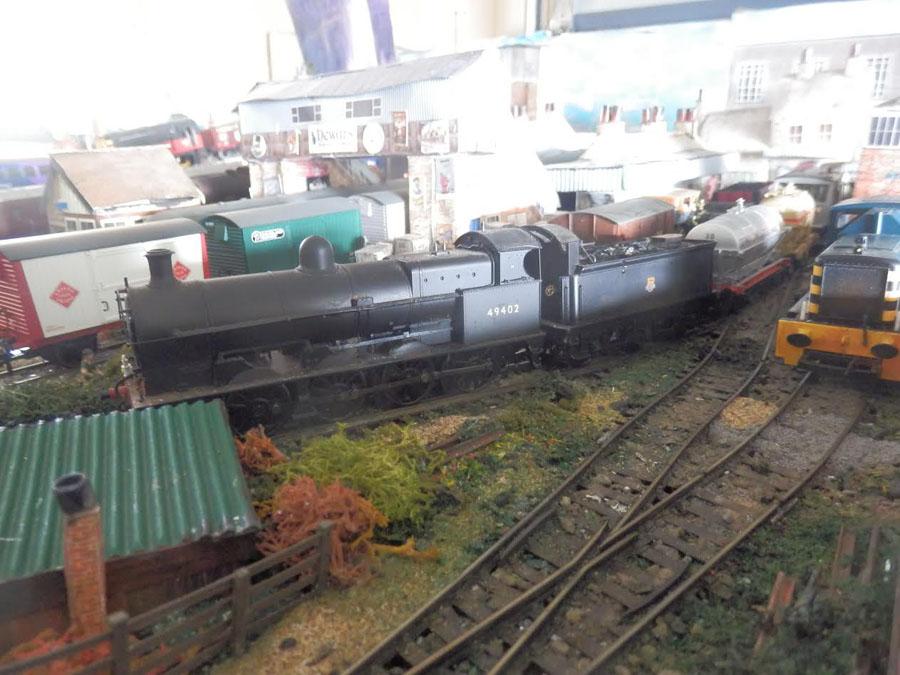 1-model-steam-train