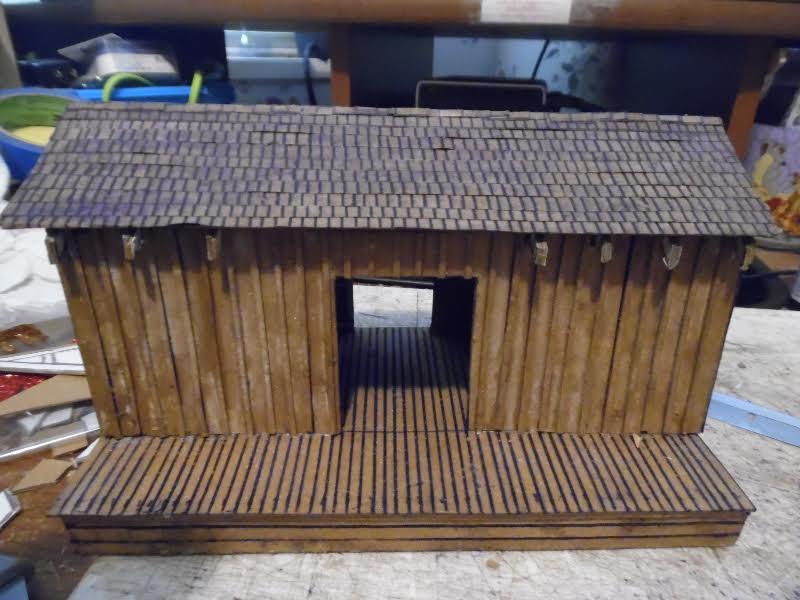 station-shed