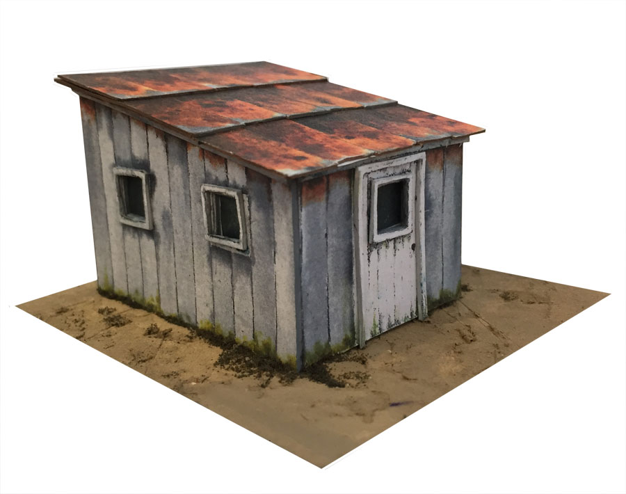 model railway print out scenery