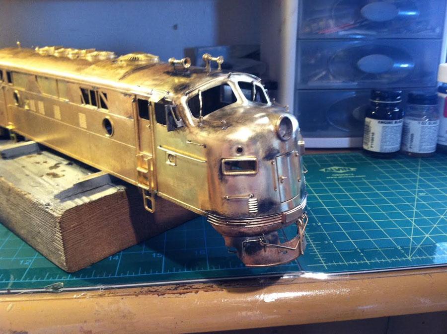 airbrush train