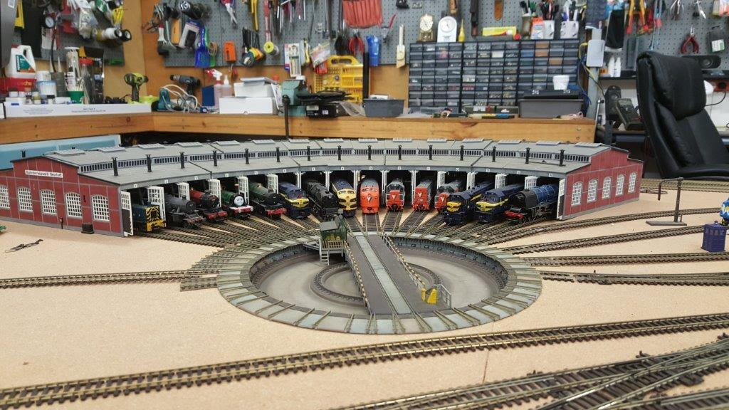 Herbie S Having Fun With His Layout Model Railroad