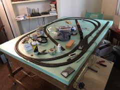 model railroad layout atlas track