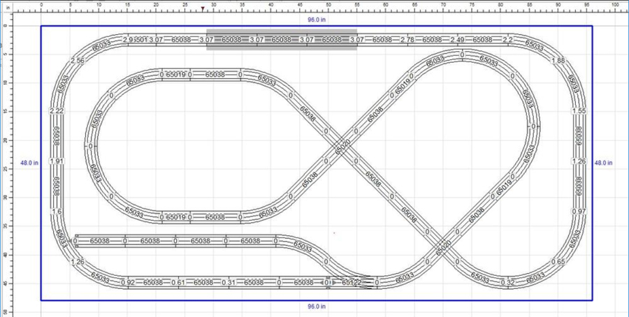 O27 lionel track plan