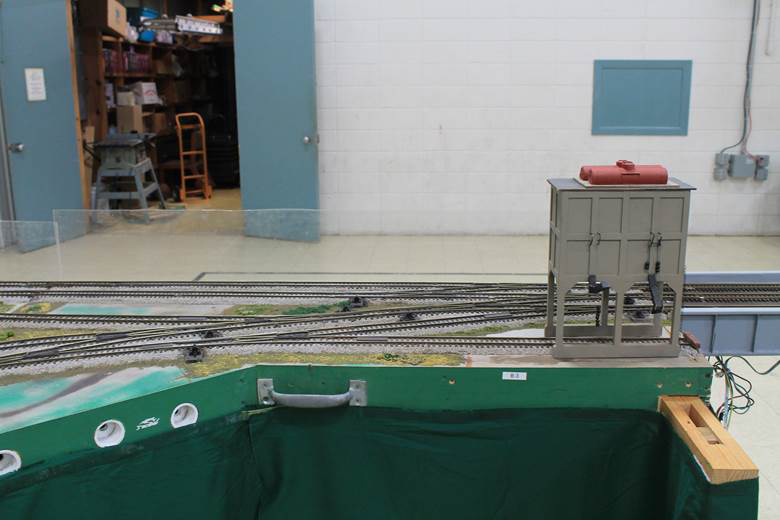 S Gauge switch tracks