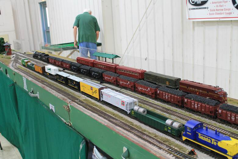 S Gauge main yard