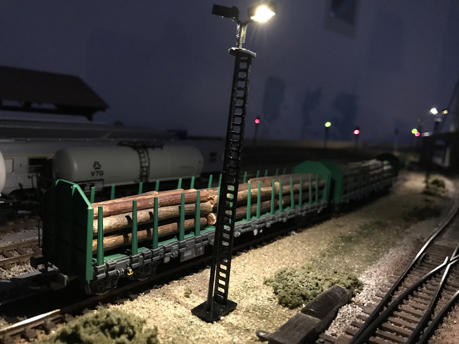 HO logging train