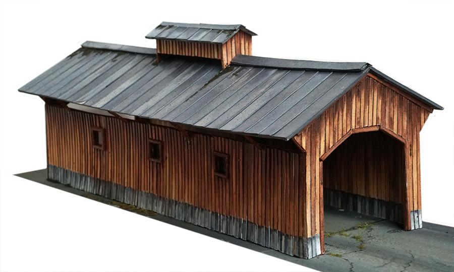 printable bridge for model railroad