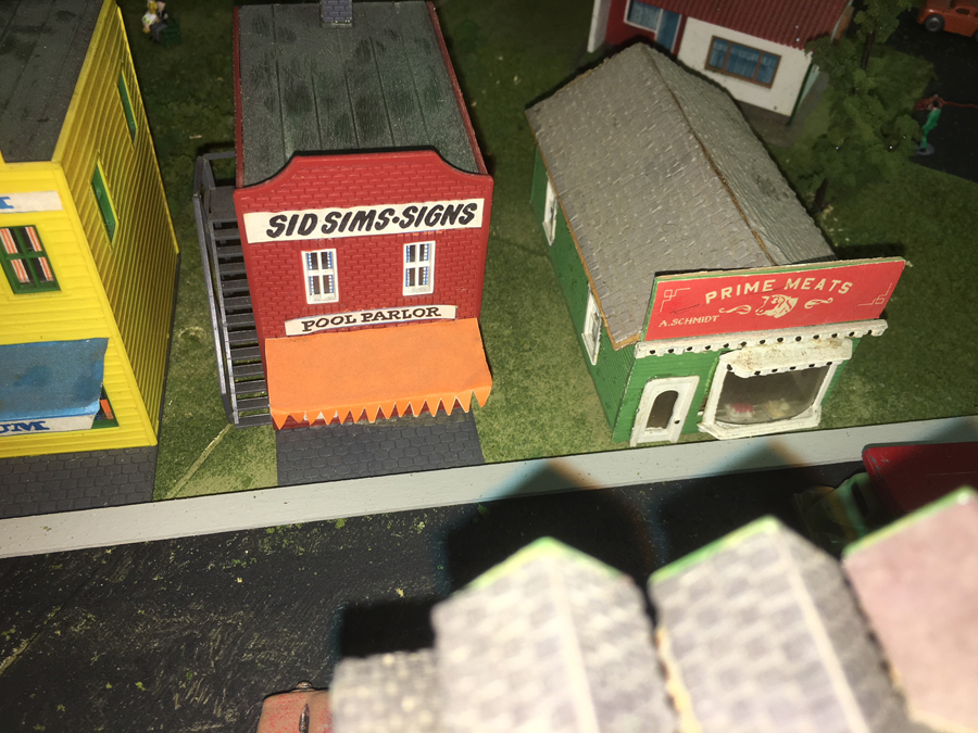 model railroad shop