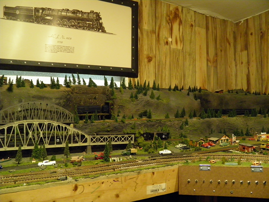 N scale bridge