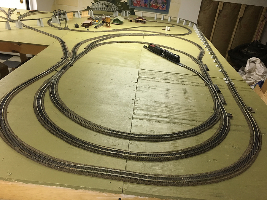 model railroad layout plan