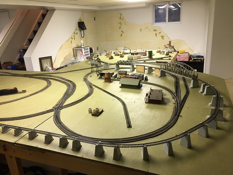 Scott U0026 39 S Model Railroad Track Plan
