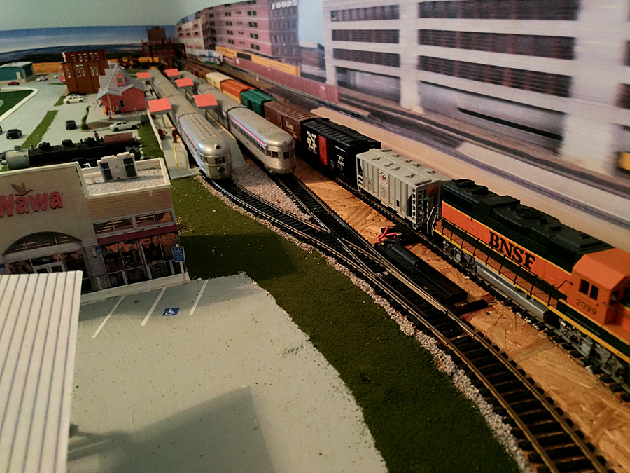 HO sidings
