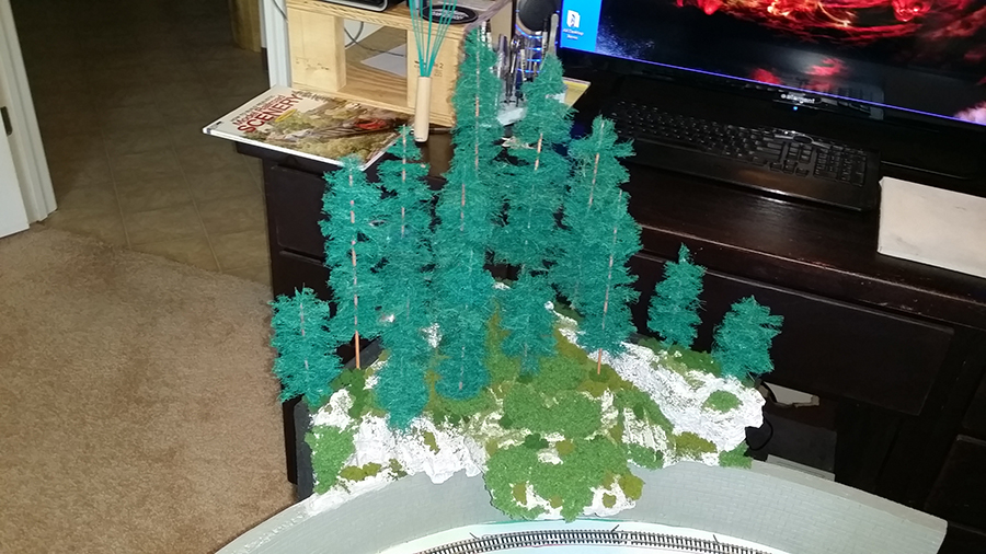 n scale trees