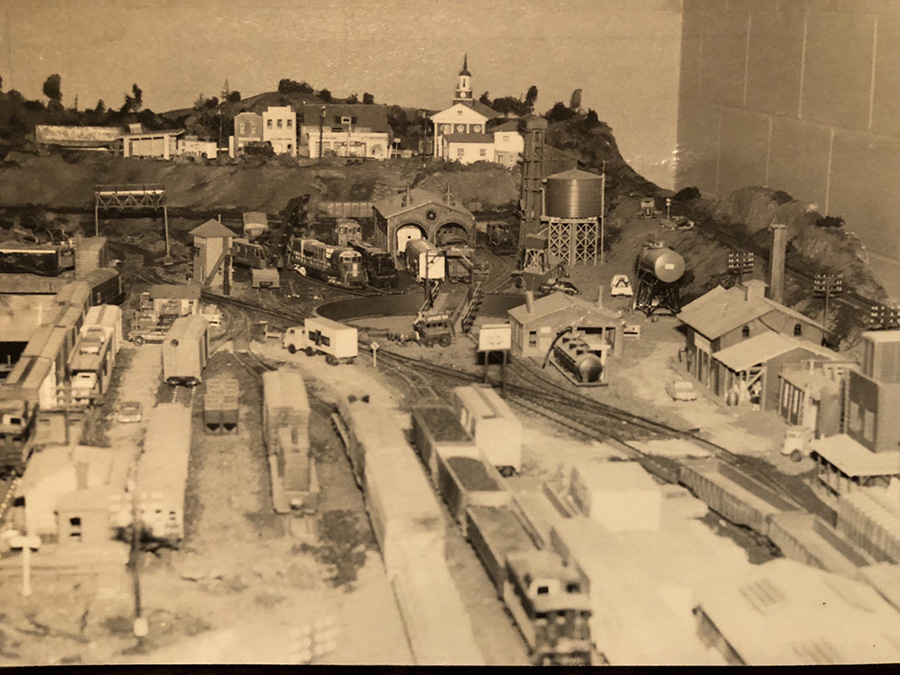 vintage model railroad