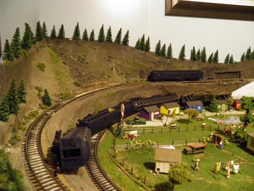 model train crash