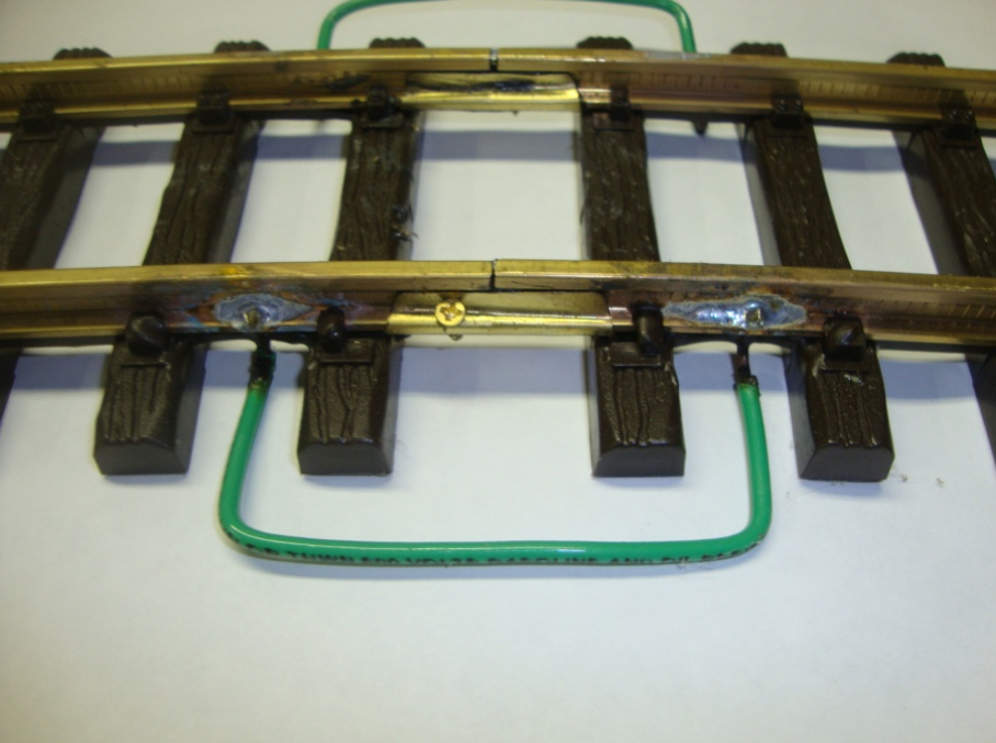 g scale track solder