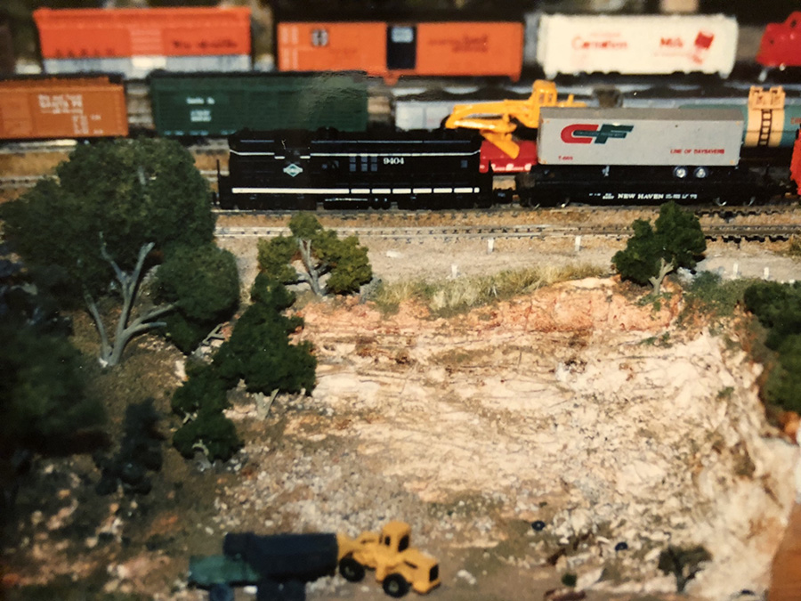 N scael model railroad