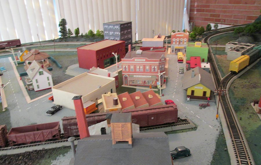 HO scale fctory