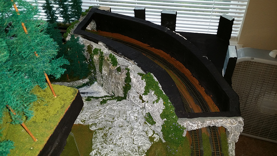 n scale tunnel