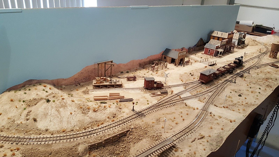 model railroad on30 mining layout