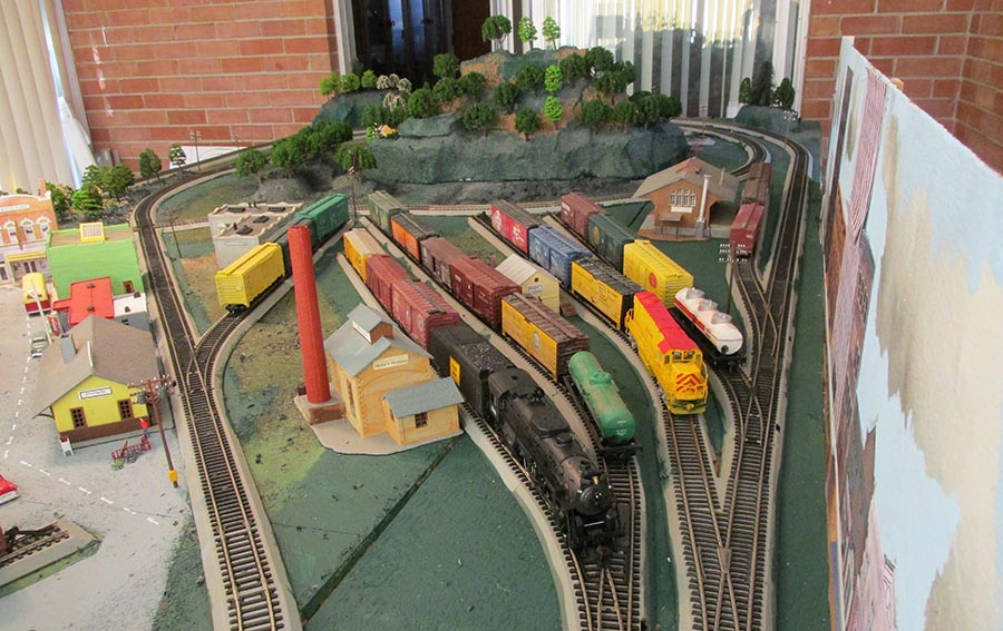 HO scale sidings