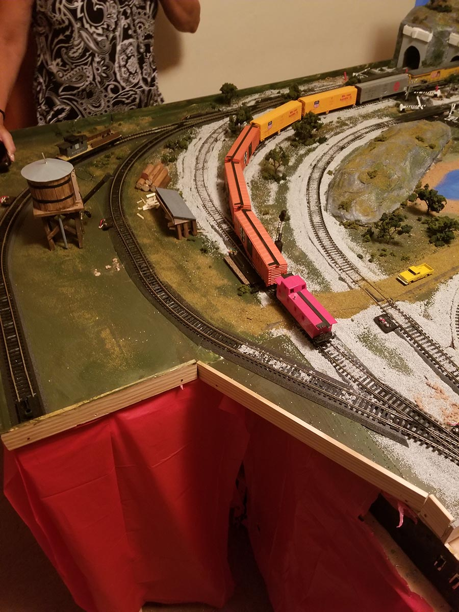 expanding sidings